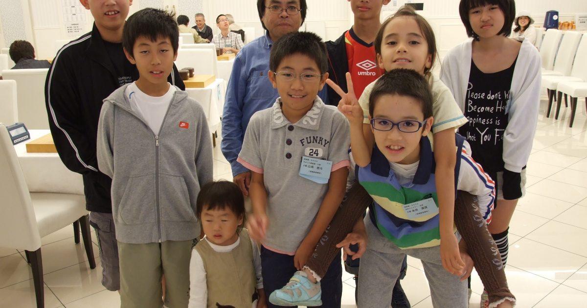 囲碁教室の仲間たち