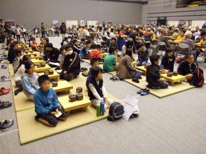 子ども囲碁教室から大会参加
