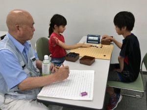 第38回みやにち県少年少女囲碁大会小学生の部決勝