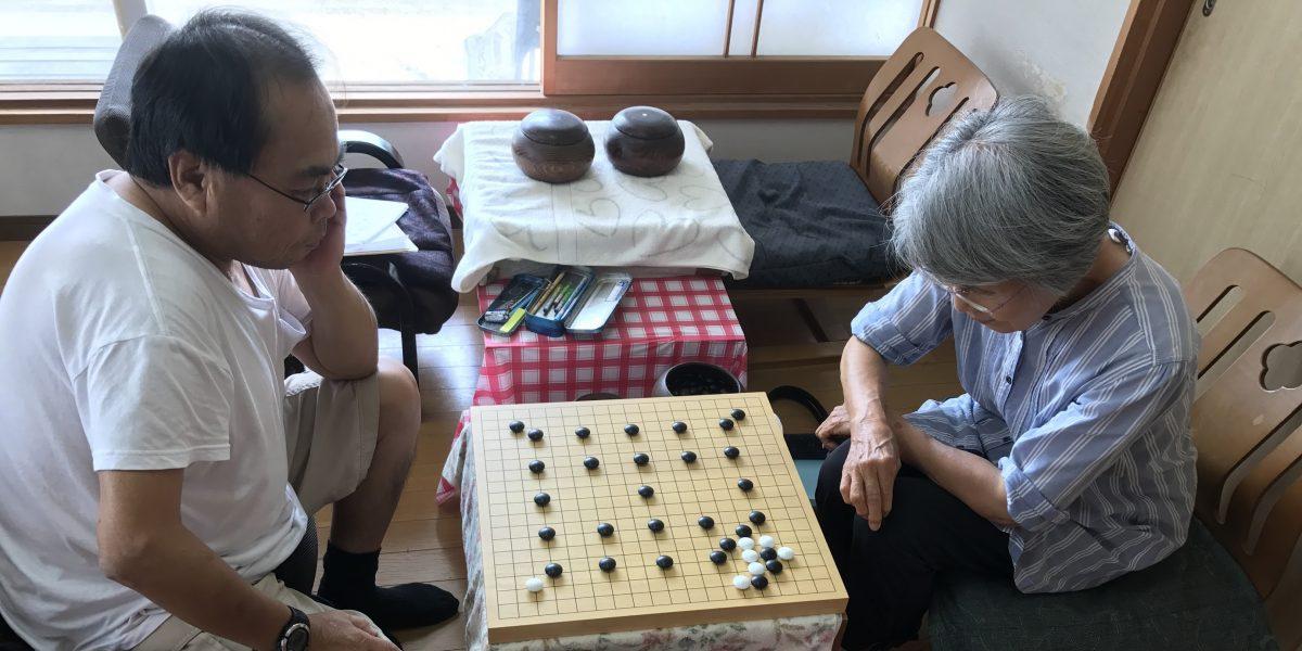 宮崎のこども囲碁教室の最年長入門者