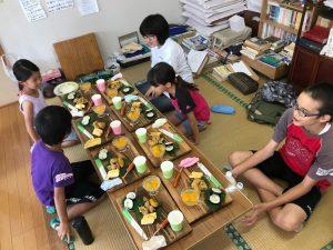 壮行会・宮崎清武の子ども囲碁教室