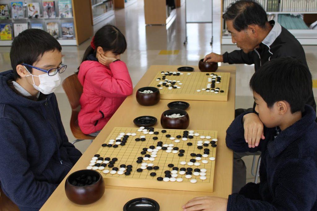 日南学園の囲碁・将棋教室3