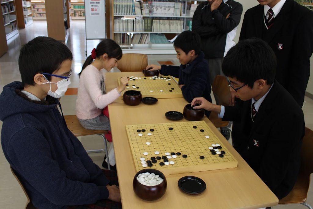 日南学園の囲碁・将棋教室4