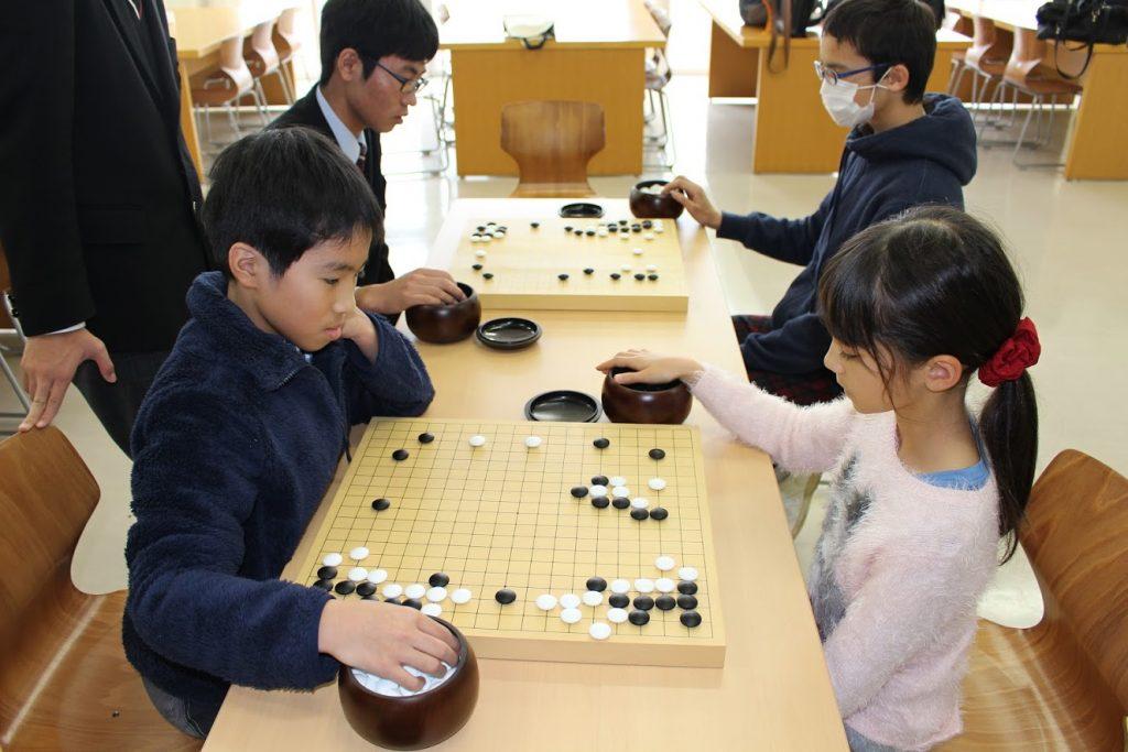 日南学園の囲碁・将棋教室5