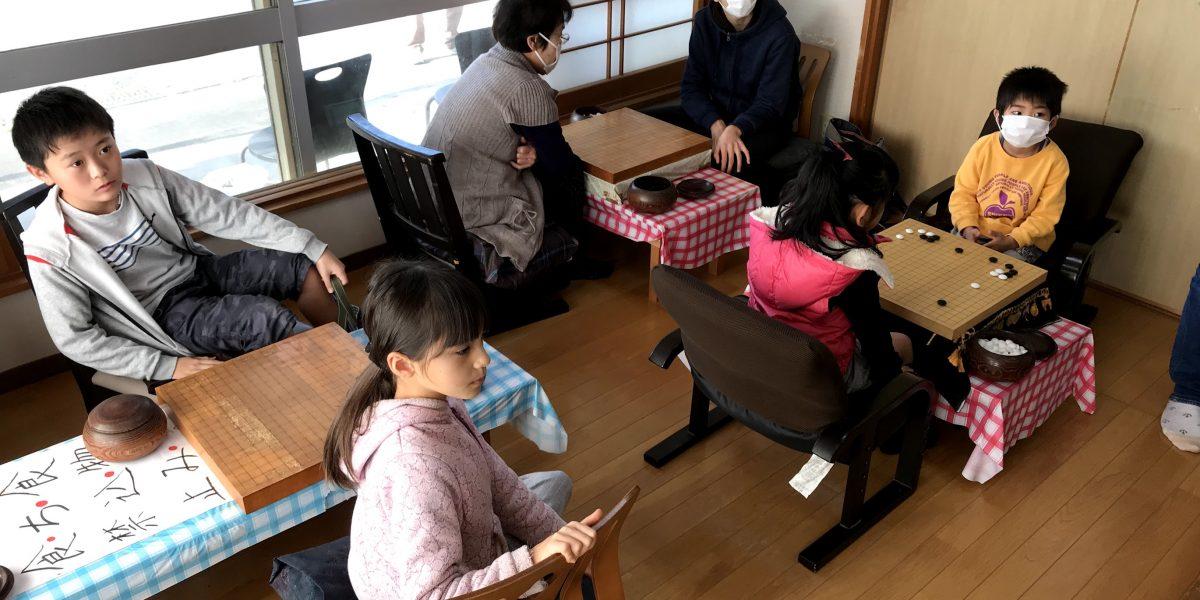 清武の子ども囲碁教室の仲間です